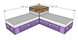 Rooms To Go Storage Bed Ana White Corner Hutch Plans For The Twin Storage Beds Diy