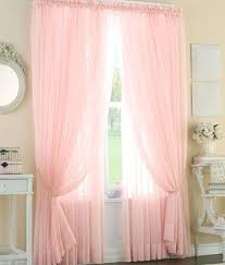 Pink Ruffle Blackout Curtains Light Pink Curtains U2013 Teawing Co