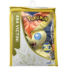 pokemon 20th anniversary small plush victini toys high quality 20th anniversary victini pokemon small plush