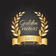 laurel wreath template vector free download