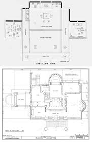 top floor plan of the ho o den image digitized by national diet