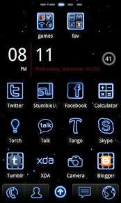 go theme launcher apk neon blue go launcher theme 2 5 apk android 2 0 eclair apk tools
