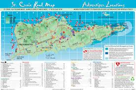map st croix st croix island road map maps st croix islands
