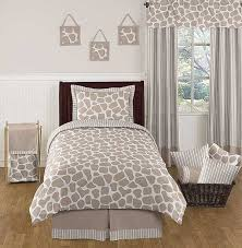 Tiger Comforter Set Giraffe Comforter Set 3 Piece Full Queen Size By Sweet Jojo