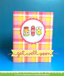 get well soon package get well soon border lawn fawn
