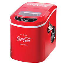 nostalgia electrics ice100coke coca cola series ice maker