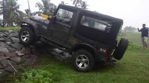 mahindra jeep price list first mahindra thar adventure edition modified in kerala youtube