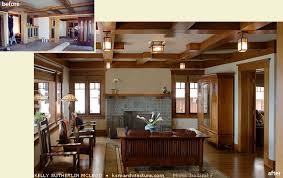 Craftsman Ceiling Fan by Award Winning Restoration And Addition To 1913 Craftsman Style