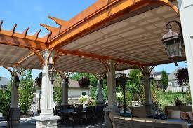 gamble roof pergola design wonderful outside pergola designs pergola covers