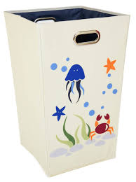 Stainless Steel Laundry Hamper by The Sea Laundry Hamper