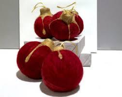 wool felt ornament etsy