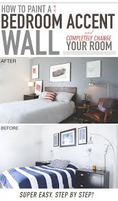 Accent Walls In Bedroom by How To Paint A Bedroom Accent Wall And Completely Change Your Room