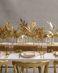 gold centerpieces 25 non floral wedding centerpiece ideas martha stewart weddings