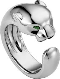 cartier design rings images Crb4099500 panth re de cartier ring white gold tsavorite png