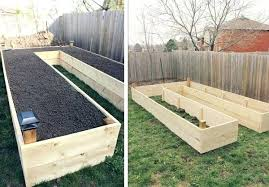 diy raised garden beds corrugated iron creative bed ideas and