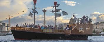 emerald city pirates pirate ship seattle washington cruise