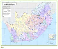 Africa Map Rivers Slim