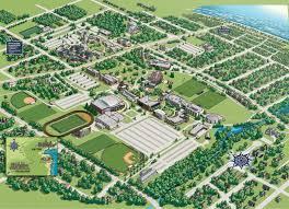Mercer University Map Monmouth University Nj Campus Map My Blog
