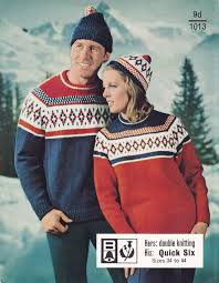 vintage mens fair isle knitting patterns available from the