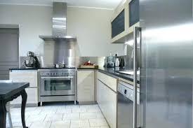 plaque inox cuisine credence inox cuisine cracdence aluminium sur mesure avec daccoupes