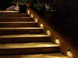 Small Outdoor Lights Of Outdoor Stair Lighting All Home Design Ideas