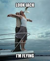 Titanic Door Meme - titanic puns