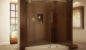 glass shower doors cleaning shower one piece corner shower stalls beautiful acrylic shower
