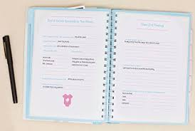 pregnancy journal book pearhead pregnancy journal multicolored baby
