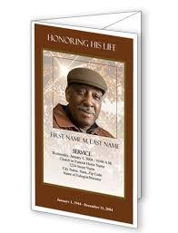 funeral booklet funeral phlet memorial phlets service handouts