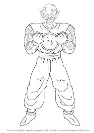learn draw piccolo daimao dragon ball dragon ball