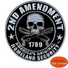 biker jacket vest 2nd amendment skull patch biker jacket vest amt custom shop