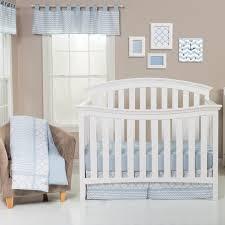 Blue Crib Bedding Set Trend Lab Blue Sky 3 Crib Bedding Set Reviews Wayfair