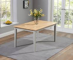 Dining Table And 2 Benches Chiltern Oak And Cream Dining Table Set With 2 Chairs Bench