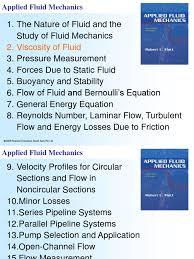 9789810682415 ppt 02 ppt viscosity fluid mechanics