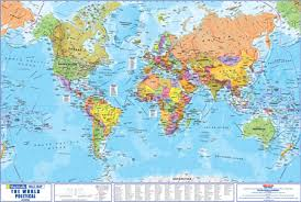 world map image with country names and capitals sa maps and flags