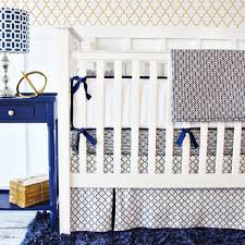 Navy Blue And White Crib Bedding by Best Navy Baby Bedding All Modern Home Designs