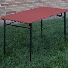 preferred nation folding table cosco home and office indoor outdoor adjustable height center fold