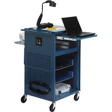 multimedia cart with locking cabinet bretford pal multimedia presentation cart topaz tcp23 tz b h