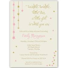 pink and gold baby shower invitations twinkle glitter and gold baby shower invitation the invite