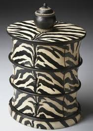 Zebra Side Table Zebra Modern Leisure Chair Unique Things For The Home
