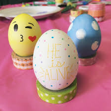 Easter Egg Decorating Idea by Three Cute Easy Easter Egg Decorating Ideas Little Faith Blog