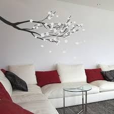 products wallboss wall stickers wall art stickers uk wall blossom branch wall vinyl by wallboss