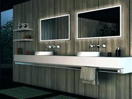 Lighted Mirrors For Bathroom Free Bathroom Stylish Cool Led Lighted Mirrors Bathrooms 87 On
