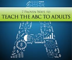 proven ways to teach the abc to adults