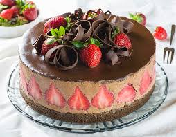 strawberry chocolate cake omg chocolate desserts