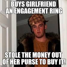 Engagement Meme - scumbag steve meme imgflip