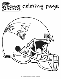 new england patriots logo coloring page inside coloring pages