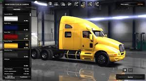kenworth chassis kenworth t2000 edited american truck simulator mods ats mods