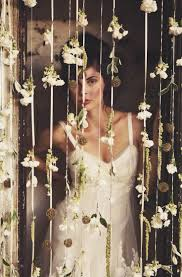 Wedding Entrance Backdrop Best 25 Flower Curtain Ideas On Pinterest Hanging Flowers