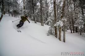 nick martini skier powder
